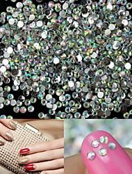 billige -1400 Neglekunst Dekoration Rhinsten Perler Makeup Kosmetik Neglekunst Design