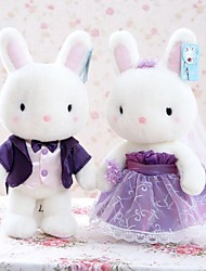 giocattoli farciti Nuovi giochi Originale Rabbit Felpato Bianco Per bambini / Per bambine