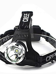 Headlamps Headlight LED 1800 lm 3 Mode Cree XM-L T6 Waterproof for Multifunction Batteries not included