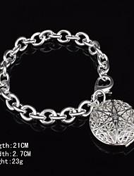 Fashion Sterling Silver Plated Dangle  Women's Bracelet