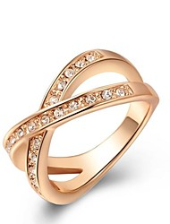Ring Women's Rose Gold Rose Gold 5 / 6 / 7 / 8 / 9 Pink Gold