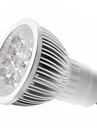 3W GU10 LED Spotlight MR16 1 High Power LED 250-300 lm Warm White Cold White 3000-3500k/6000-6500 K AC 85-265 V