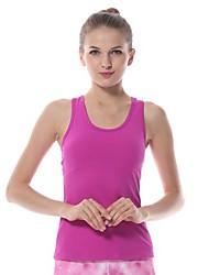 baratos -Yokaland Mulheres Sem costas / Com tiras Yoga Top - Laranja, Roxo, Verde Esportes Elastano Colete / Malha Íntima / Blusas Corrida, Fitness, Ginásio Sem Manga Roupas Esportivas Elástico em 4 modos