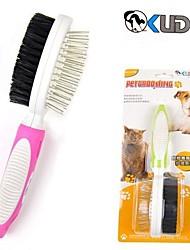 Недорогие -высокое качество щетины массажной щеткой для домашних собак (различных размеров, случайный цвет)