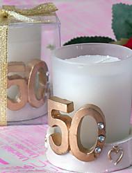 cheap -Garden Theme Candle Favors - 4 Candles Gift Box