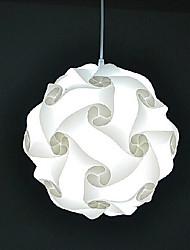 diy moderno palla lampada a sospensione iq 40 centimetri