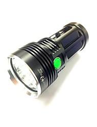 economico -Sky Ray Torce LED LED 8000LM Lumens 3 Modo Cree XM-L U2 18650Campeggio/Escursionismo/Speleologia / Uso quotidiano / Ciclismo / Caccia /
