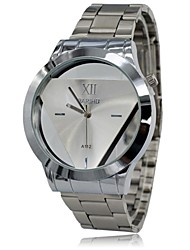 cheap -Men's Wrist watch Quartz Casual Watch Stainless Steel Band Charm Silver