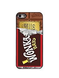 Chocolate Design Aluminum Hard Case for iPhone 5/5S