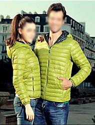 Недорогие -kakani женщин европейская мода капюшоном с длинным рукавом пальто хлопка