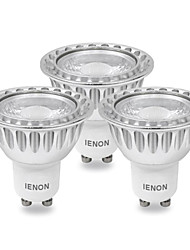 cheap -IENON 240-270 lm GU10 LED Spotlight MR16 leds COB Cold White AC 100-240V