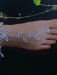 cheap -Women's Metal Barefoot Sandals Wedding Vacation for Foot