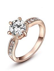 prsten dámské růžové zlato růžové zlato 6/7/8 růžový zlatý elegantní styl