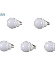 E26/E27 LED Globe Bulbs A60(A19) 18 SMD 2835 400-500 lm Warm White 3000-3500 K AC 220-240 V