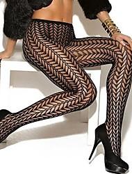 abordables -calcetines de mujer& pantimedias delgadas elásticas panty, nylon / spandex