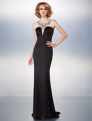 Trompette / Sirène Traîne Brosse Jersey Gala Prestigieux Robe avec Billes par TS Couture®