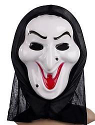 Недорогие -Белая Колдунья маска с крышкой головки Розыгрыш страшных косплей гаджетов для Хэллоуина костюм участника