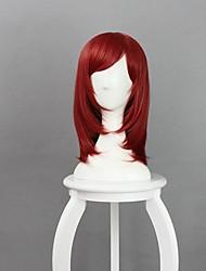 Parrucche Cosplay Cosplay Maki Nishikino Rosso Medio Anime Parrucche Cosplay 45 CM Tessuno resistente a calore Donna
