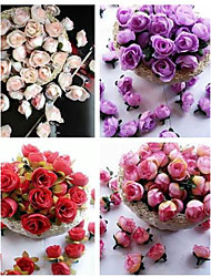 "cheap -Wedding Flowers Free-form Roses Decorations Wedding Party/ Evening Silk 1.18""(Approx.3cm)"