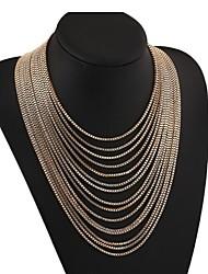 masoo venda quente multicamadas luxo colar das mulheres