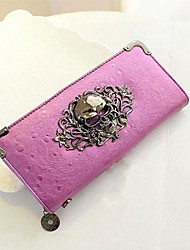 Women Bags All Seasons PU Clutch Evening Bag Wallet for Casual Black Silver Purple Dark Red Royal Blue
