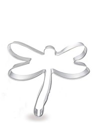 tegneserie dragonfly form cookie cutter, rustfrit stål