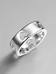 cheap -2016 Cheaper Simple Heart Fashion Women 925 Sterling Silver Statement Ring