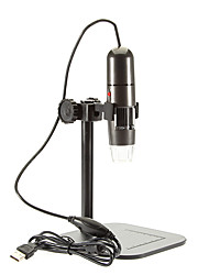 cheap -Adjustable 8 LED 1000X USB Digital Microscope Endoscope Loupe Otoscope Magnifier with Stand