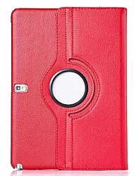 tanie -SHI CHENG DA Kılıf Na Samsung Galaxy Samsung Galaxy Etui Z podpórką / Flip / Obrót 360° Pełne etui Solidne kolory Skóra PU na Tab 4 10.1