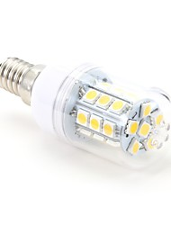 abordables -3W 200lm E14 Ampoules Maïs LED T 27 Perles LED SMD 5050 Blanc Chaud 220-240V