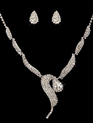 Jewelry Set Women's Anniversary / Wedding / Engagement / Birthday / Special Occasion Jewelry Sets Cubic Zirconia / Alloy Cubic Zirconia