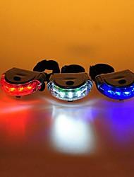 Luci bici / Luce posteriore per bici LED Ciclismo allarme / controluce / Facile da portare AAA Lumens Batteria Ciclismo-FJQXZ®