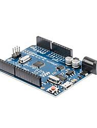 Blue ATmega328P CH340G UNO R3 Board Module Row Pins Improvement for Arduino DIY