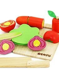 Недорогие -benho каучуковое дерево растительное установить деревянный образование Роль игрока игрушка