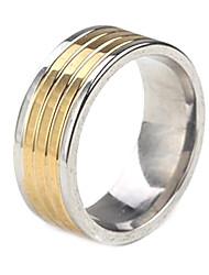персональный подарок модный ювелирных изделий нержавеющей стали выгравирован мужской кольцо