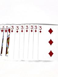 Magic Poker Magic Props - Multicolored (10 PCS)