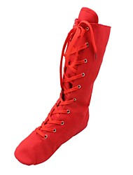 cheap -Jazz Women's/Kids' Boots Fabric  Lace-ups Dance Shoes (More Colors)
