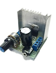 cheap -AT102 Dual Channel Noiseless TDA7297 Power Amplifier Board Module