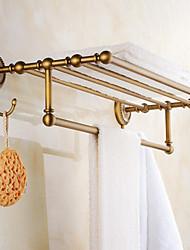 Недорогие -Полка для ванной Античный Латунь 1 ед. - Гостиничная ванна Двуспальный комплект (Ш 200 x Д 200 см)