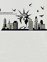 Недорогие -окружающей среды съемный Статуя Свободы тегов пвх&наклейка