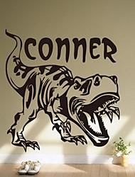 Недорогие -окружающей среды съемный стикер динозавр стены PVC
