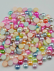 2000PCS Different Colors Of Pearls Nail Art Decorations 3MM
