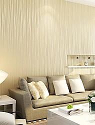baratos -Riscas Papel de parede Contemporâneo Revestimento de paredes,Papel não tecido Sim
