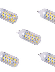 cheap -YWXLIGHT® 5pcs 1500 lm G9 LED Corn Lights T 60 leds SMD 5730 Warm White Cold White AC 110V AC 220V