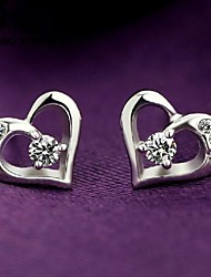 preiswerte -Stud Earrings - aus Sterlingsilber - für Damen
