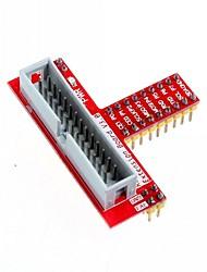 26-pin acessório placa de expansão t GPIO para Raspberry Pi b +