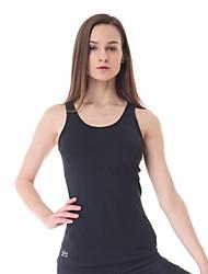 abordables -Yokaland® Mujer Sin Mangas Carrera / Running Chalecos Tank Tops/Camiseta Tops Elástica en 4 Modos Suavidad Primavera Verano Otoño Invierno