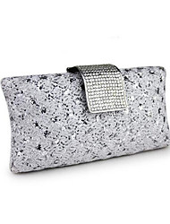cheap -Women Bags PU Evening Bag for Event/Party All Seasons Gold Silver