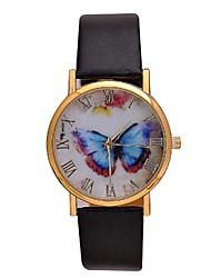 cheap -Women's Retro  Leather Watch Circular High Quality Japanese Watch Movement(Assorted Colors) Cool Watches Unique Watches