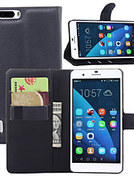 Left Open Litchi Stria Pu Support Mobile Phone Holster  Full Body Case for Huawei Honor 6 Plus